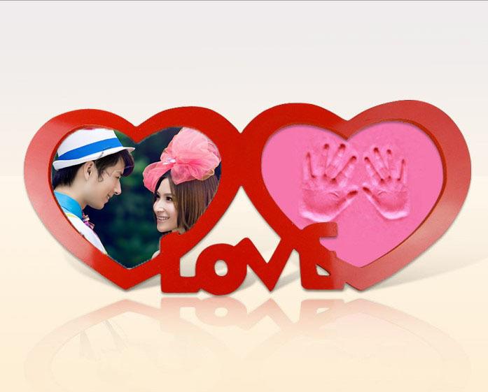 -inch-Double-Heart-font-b-Wedding-b-font-Photo-Frame-Photo-Frame-LOVE ...