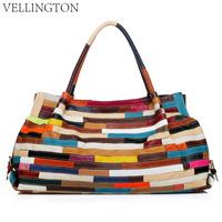 Black,Colors Women Designer Genuine Leather Handbag Lambskin Large Shoulder Messenger Tote Bag kelf8803