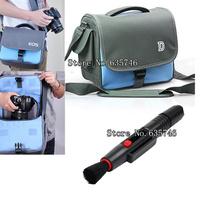 2in1 Lens Cleaning Pen Lens pen+waterproof Camera Bag Case for EOS 700D 650D 600D 550D 60D DSLR Canon Rebel T5i T4i T3i