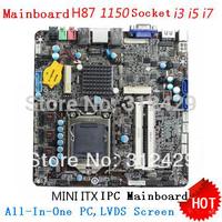 MotherBoard,Socket 1150,Form Factor:Thin Mini-ITX,Intel H87