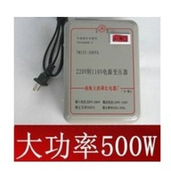 NEW! 1pc AC 220v to 110v 500w Step Down Voltage Converter Transformer volt convertor convert ,freeshipping