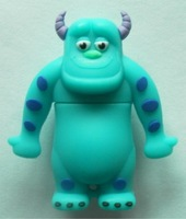 wholesale  pvc  material Monsters, Inc. Run usb flash drive  4gb 8gb