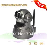 hot sale night vision p2p wireless camera pan tilt robot wireless ip camera