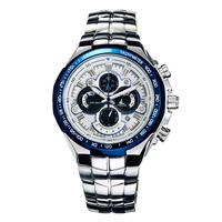 For EverU Quartz watch outdoor table stainless steel multifunctional sports male waterproof male watch m3124