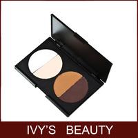 New Pro 4 Color Makeup Concealer Contour Face Powder Palette