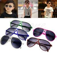 Fashion Cute Children Girl Boy Baby Kids AC Lens PC Frame UV 400 Sunglasses New