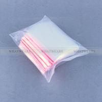 100pc 8x12cm Jewelry Ziplock Zip Lock Reclosable Plastic Poly Clear Bags [2222-398]
