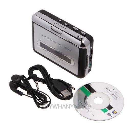 Кассетный плеер USB MP3 83710 кассетный плеер ezcap magnetophone usb mp3 ke c001