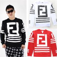 fashion FF 17 zippper sweatshirt mens new 2014 brand thick mens fashionable sweatershey hoodie men crewneck jogging