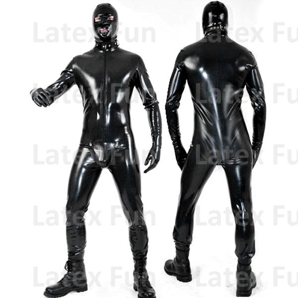 Фото латексный костюм извращения 30