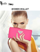NEW! Fashion wallet dull polish PU long pattern women wallet leather bags women bags 6 colors can choose FREE SHIPPING