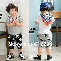 new 2014 summer children pants/ Star harem pants kids black and gray 2 colors 5 pcs/lot boys pants wholesale
