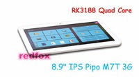 "8.9"" IPS PiPO M7T 3G Tablet PC Quad Core RK3188 Android 4.2 2GB RAM 16G 1.6GHz HDMI Bluetooth 4.0 3G Phone Call Redfox"