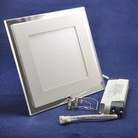 20W AC85-265V Blue+white, Blue+warm white 3D Color Square Shape 3Modes Color Change Ultral Thin Ceiling Lamp LED Panel Light