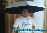 Hot-selling ! fishing umbrella sunscreen headband umbrella hat wearing Large umbrella cap umbrella