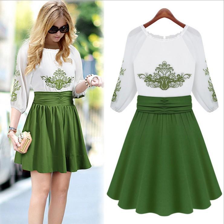 Popular Half Sleeve Dresses Womens Dresses