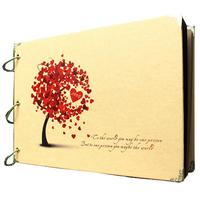 2014 Diy photo album for Creative gift wedding  baby grow copies scrapbook paper