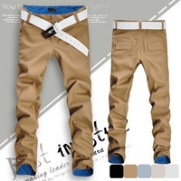 Free shipping! Hot fashion fit mens casual new design business trousers high quality cotton pants