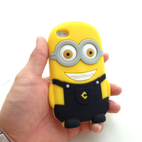 Free shipping Despicable Me for iphone5 5s 5c mobile phone silicone protective shell wholesale