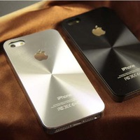 New 2014 Fashion Brand CD Skin Metal Aluminum Case for iPhone 5 5G 5S fit iPhone5 Cover Shell Mobile Phone Accessories