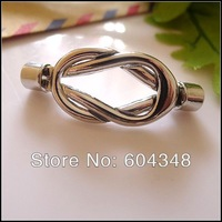 20pcs 4mm New Antique Silver tone Magnet Magnetic Buckle Clasp Hooks Connector Leather Cord Bracelet End Caps DIY Findings