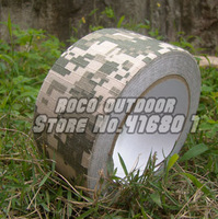 ACU RIPSTOP duct tape camouflage camo rifle cover+camouflage cloth+tactical sniper tape for photography hunting free shipping