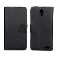 PU Wallet Leather Case For Alcatel One Touch Idol X with Stand TV Function