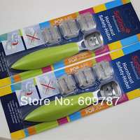 Free Shipping 5pcs/lot with random colors Safety Cuticle Cutter Callous Corn Foot Rasp
