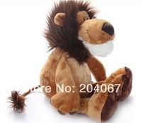 "2014 Popular NICI Lion Stuffed Doll Plush  Jungle Series  Animal TOYS 25CM  OR 10"" FREE SHIPPING On Sale"
