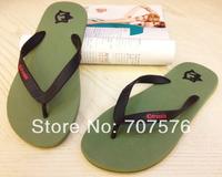 Summer rubber slip-resistant male flip flops beach slipper slippers