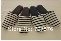 Home slippers quieten winter soft outsole slippers 100% cotton casual at home free size
