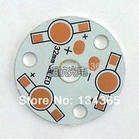 32mm 3W LED high power PCB Aluminum substrate / LED Aluminum Base board DIY LED accessories 50pcs/lot