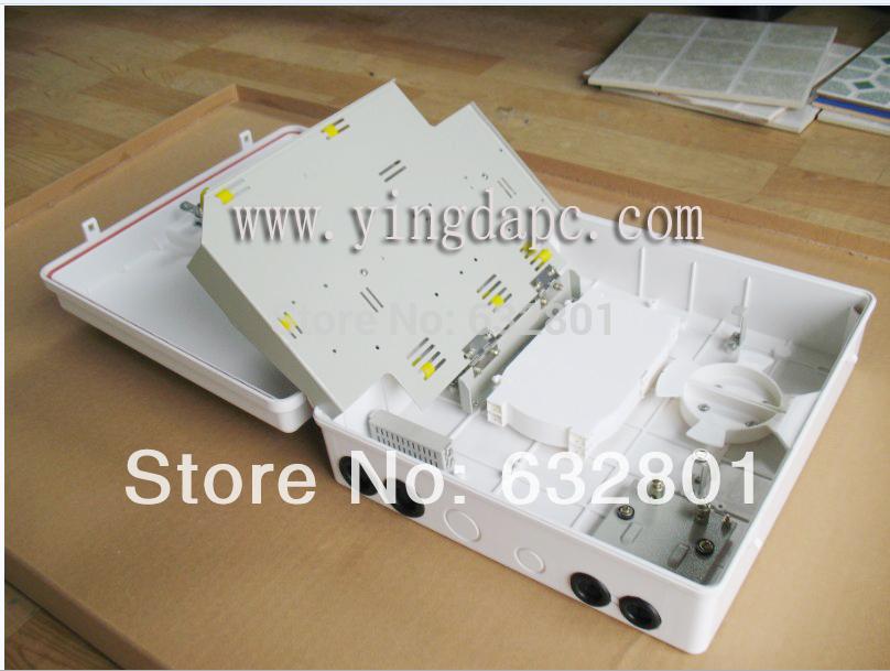 Fiber Optic Termination box YDTB-S48D (FDB box),48pcs adapter panel,use for drop cable distribution box(China (Mainland))