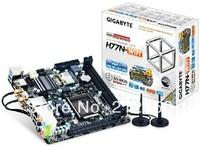 Free shipping new H77N-WIFI LGA 1155 motherboard for Gigabyte GA-H77N-WIFI H77 desktop board DDR3 16G ITX WIFI on sale