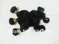 100% Unprocessed Brazilian Body Wave Virgin Hair Human Hair Weaves Wavy LM Queen Hair Products 3pcs Lot, 5A Weft Free Shipping