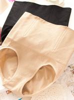 Free Shipping high waist abdomen Mention Hip body shaping panties women's seamless shorts Pure color women underwear  N75