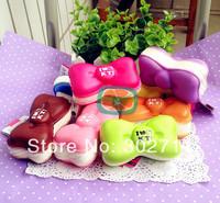 10pcs/ lot 8 Styles Jumbo 10cm Candy Colors Hello Kitty Bow Macaron Squishy Phone Charm / Bag Charm With Tag
