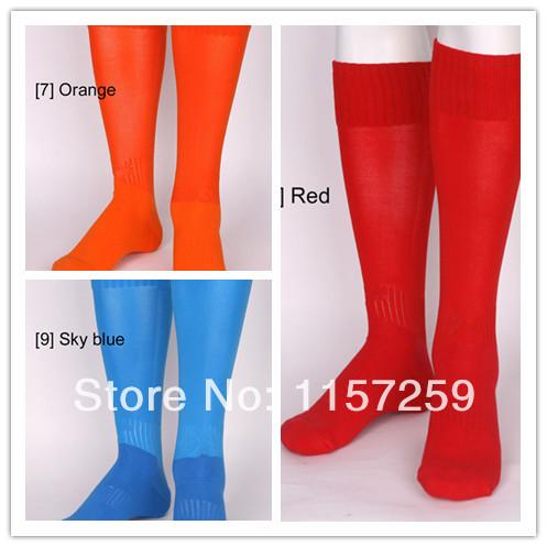 New promotional selling men's fashion Orange Red Blue socks(China (Mainland))