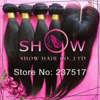 Rosa hair products,CambodianPeruvian/Malaysian/Brazilian virgin hair weaves,Grade 6A 4 bundles with closure silk based