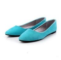 spring 2014 women flats Peas candy genuine leather shoeswoman creepers womens white shoes flat single shoe Women
