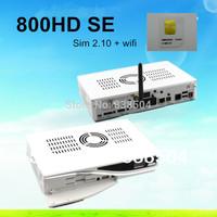 DM800hd se media player dm 800hd se sim 2.10  Rev D11 Version dm800se wifi Satellite receiver Sunray dm800 se with 300Mbps WIFI