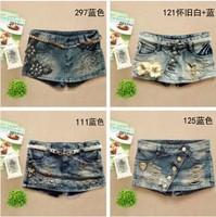 Hot sale  women jeans denim shorts women new fashion 2014 summer spring woman jeans female shorts denim pant
