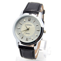 Wholesale men wristwatches fashion quartz watch leather strap watches men FS160