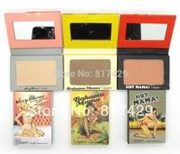 3pcs/lot whoesale 2014 new Hot selling The balm bahama mama,Hot sexy mama Powder Blush cometics makeup set blusher palette