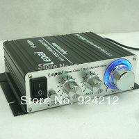 New Lepai LP-2020A+  Digital Mini Hi-Fi Audio Stereo Home Car Amplifier Tripath TA2020 With Power Adapter Black