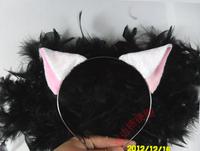 Inuyasha fox ear cosplay props cat ears