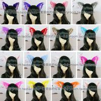 Cosplay x ss long-haired cat ears fox ears headband stereo