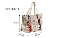 Free Shipping cheap leather  Brand MC  Women's Girls Fashion Boston women Handbag Tote Bag Purse 4 Color size 29.5*17.5*36.5cm