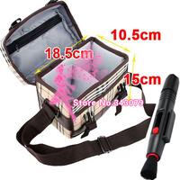 2in1 Lens Cleaning Pen Lens pen+Camera Bag Case for Canon Rebel T5i T4i T3i T2i EOS 500D 650D 600D 550D 60D DSLR