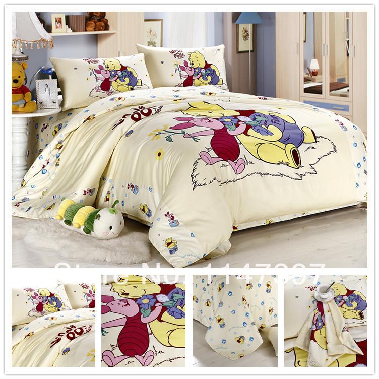 online get cheap pooh bedding set